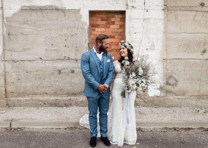 Urban Boho Canberra Wedding
