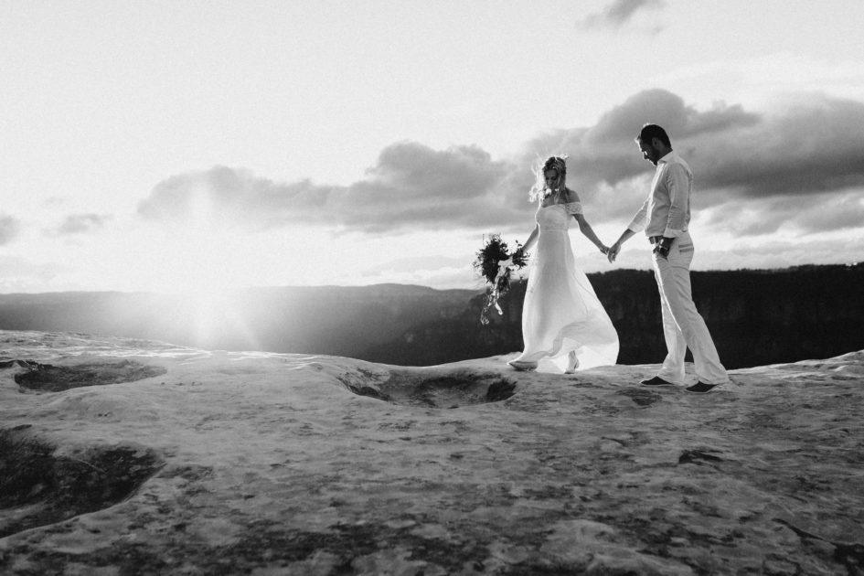 blue mountains wedding, sydney wedding, canbera wedding photographer, elopement, black and white, fine art wedding photography, bowral wedding photographer
