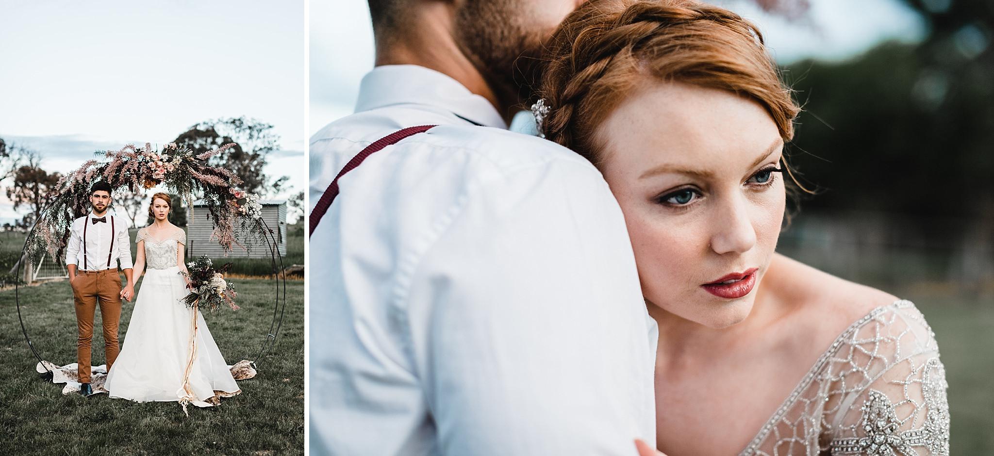 Poachers Pantry, Wedding Inspiration, Canberra Wedding Photographer, Bowral Wedding Photographer, Country Wedding, Rustic wedding bouquet, anna campbell bridal, wren and rabbit, Shae Estella Photo, Wedding photography