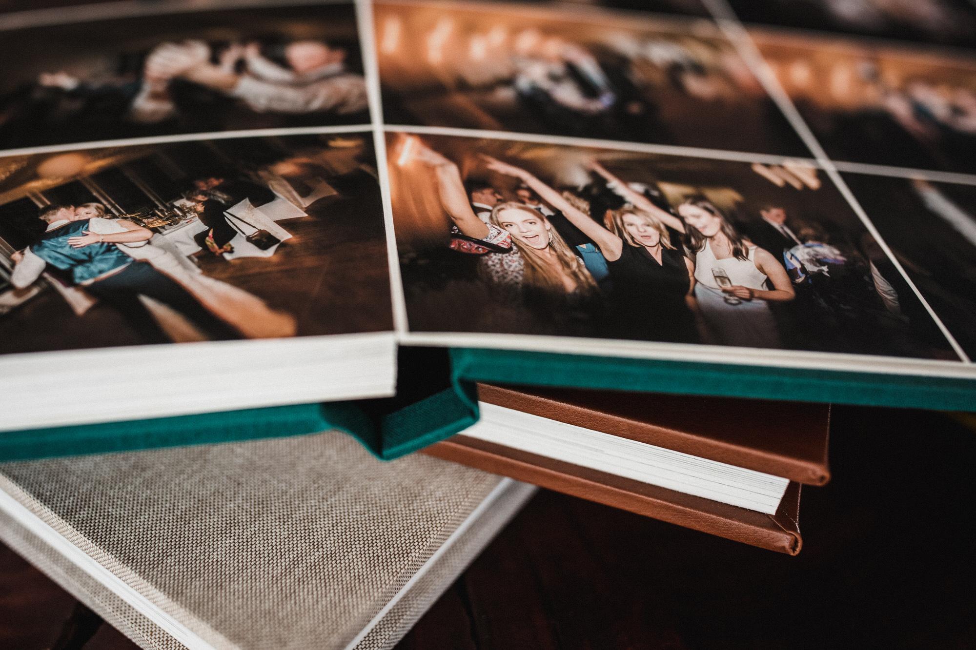flush mount albums, wedding albums, momento pro, linen wedding album, leather wedding album, cotton rag paper, wedding albums canberra, canberra wedding photographer, bowral wedding photography
