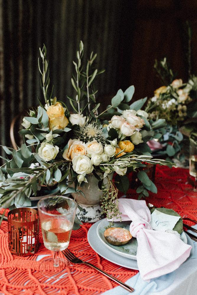 cacti, wedding styling, yellow, orange, sunshine coast, canberra wedding stylist