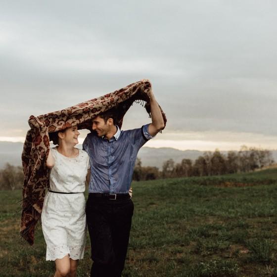 national arboretum canberra, rainy portrait, rainy engagement shoot, canberra wedding photographer, bowral wedding photographer, southern highlands wedding photography, prewedding session