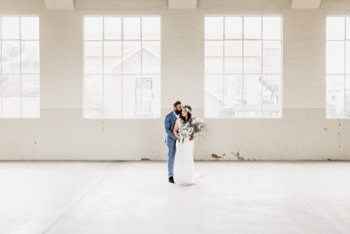 Fitters Workshop Wedding with boho styling and Anna Campbell dress by Sunshine Coast Wedding Photographer Shae Estella Photo