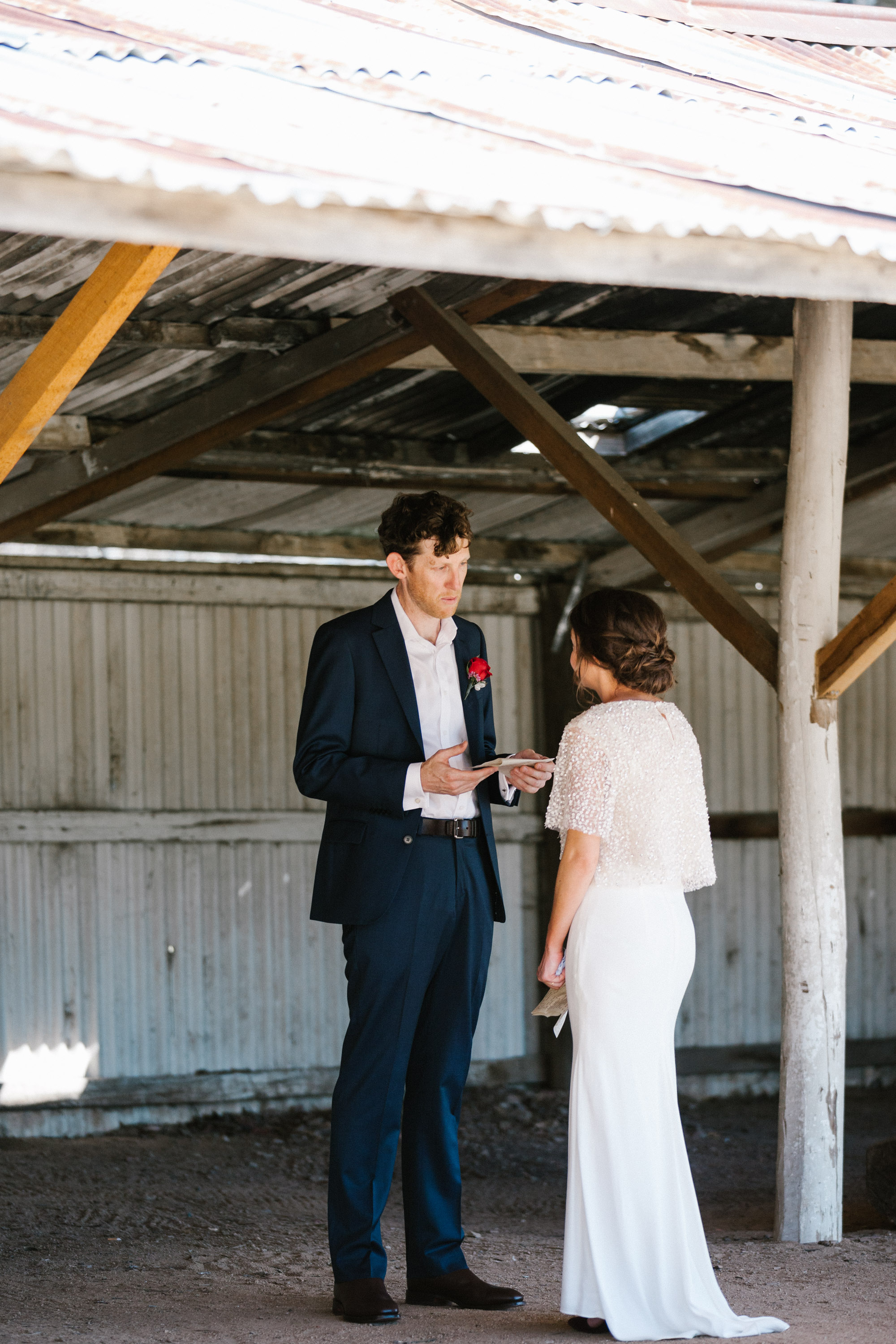 A Country hall wedding