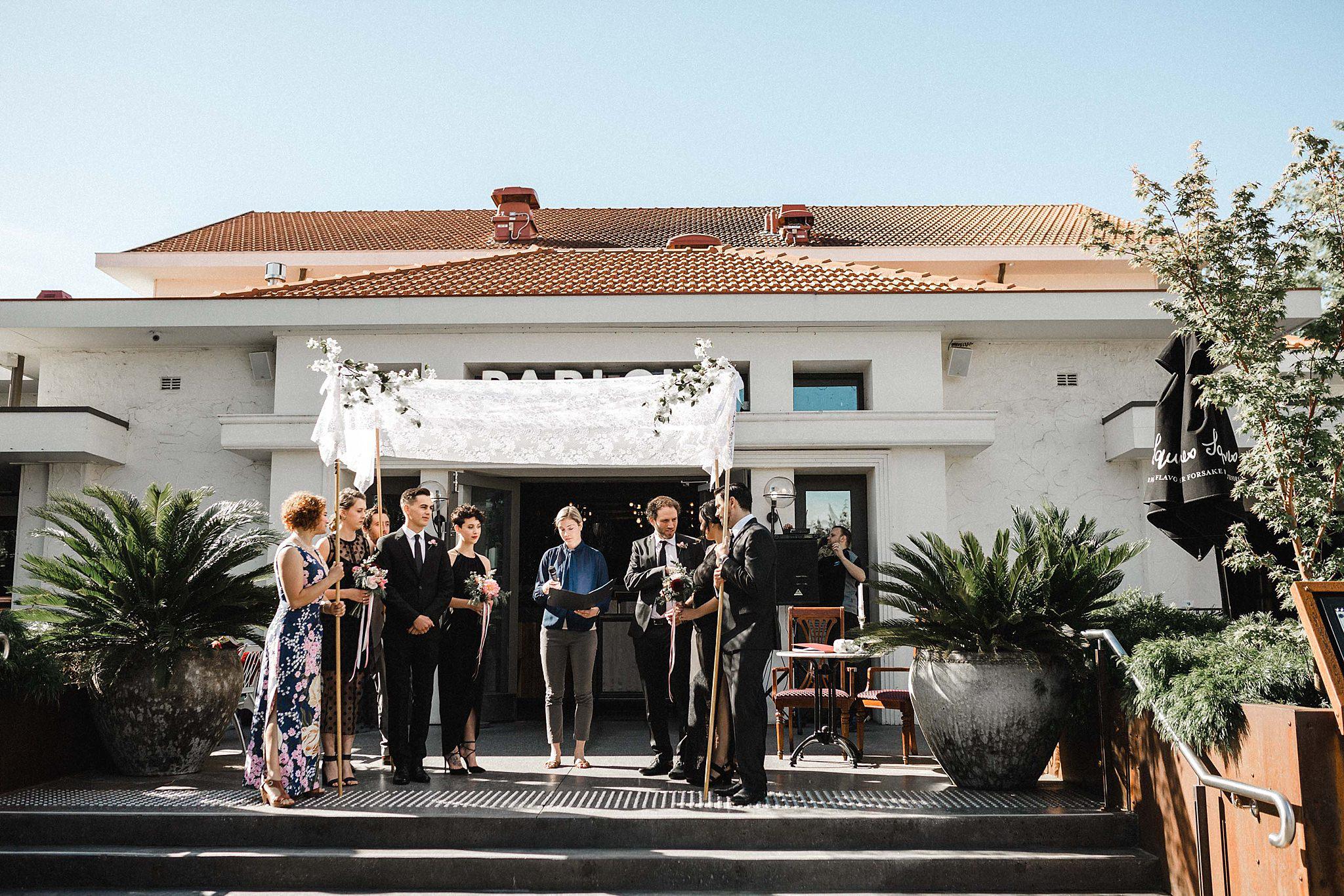 parlour canberra wedding