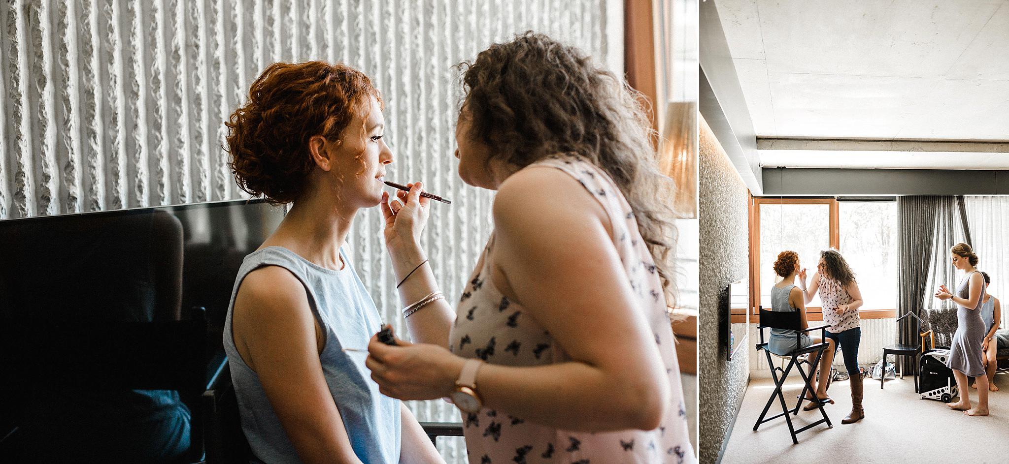 wedding makeup artists near canberra