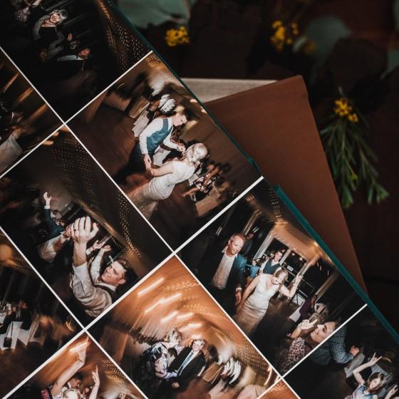 Sunshine Coast Wedding Photographer, Maleny Wedding photographer, Byron bay wedding photographer, wedding receptions, flatlay album, wedding book, momento pro, linen
