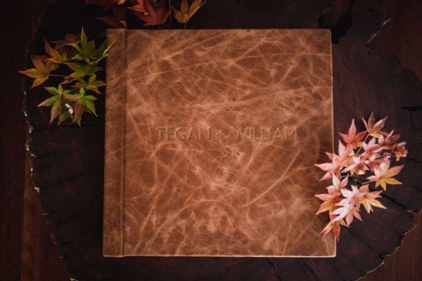 Wedding photogarrpher album, canberra wedding, bowral wedding, fine art albums, leather cover