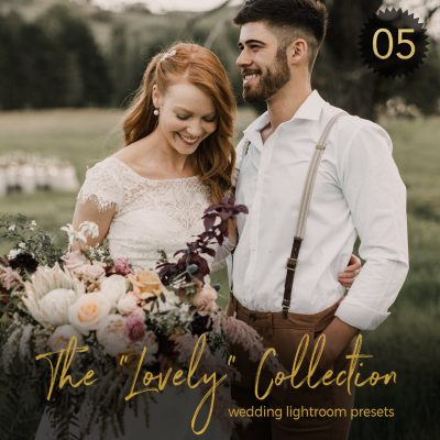 Adobe Lightroom and Photoshop presets for wedding photography by Shae Estella Photo