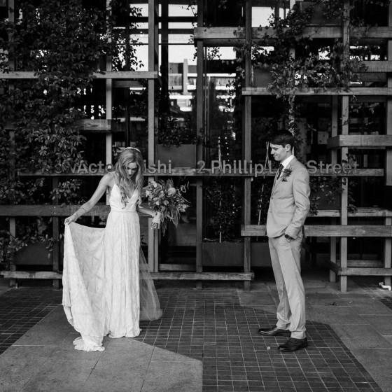 parlour wine room wedding, sunshine coast wedding photographer, bride groom, chic, urban, byron bay wedding photographer, black white