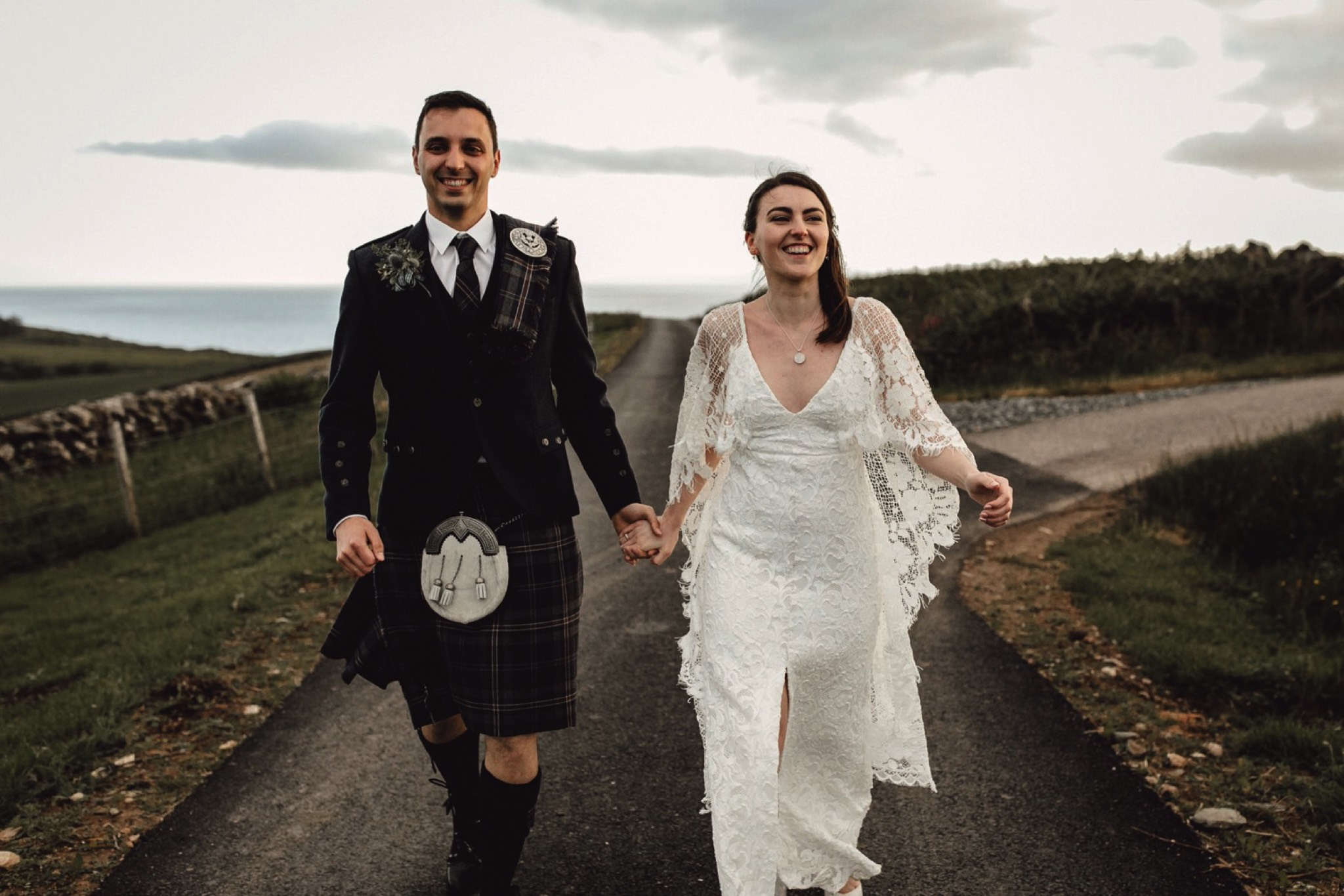wedding photographer and videographer scotland