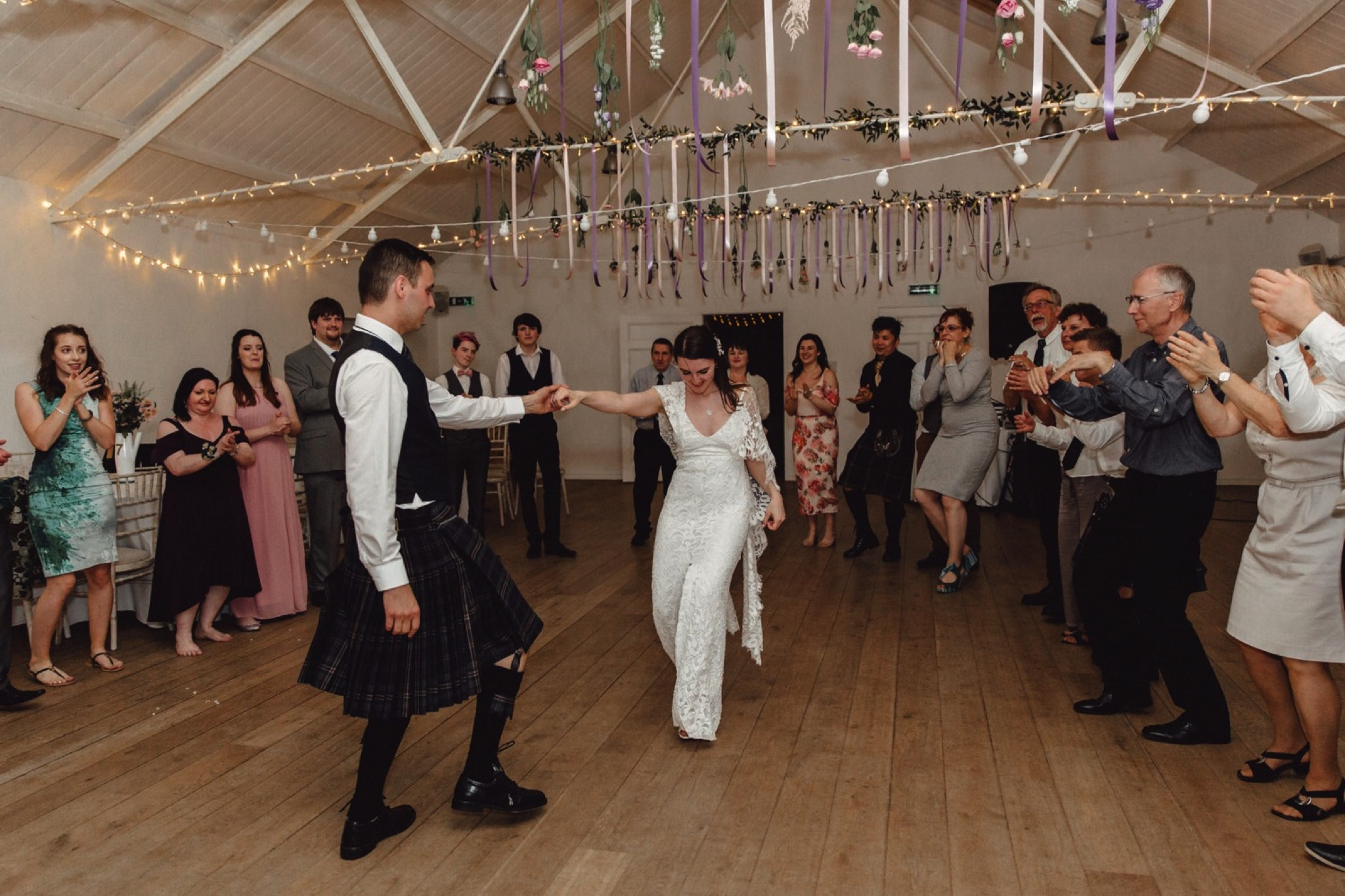 Scottish wedding at Crear Weddings in summer by Sunshine Coast and Maleny Wedding Photographer