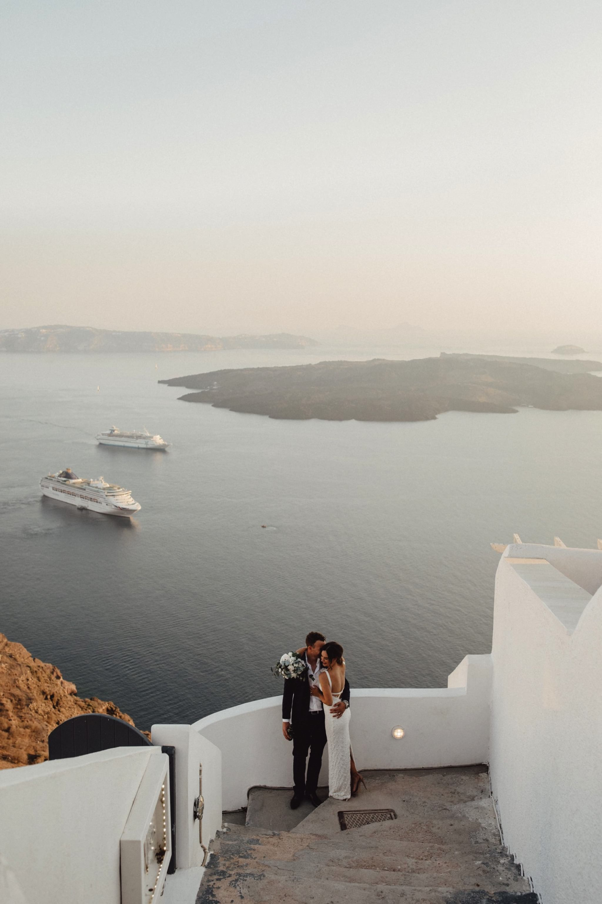 wedding destinations in santorini