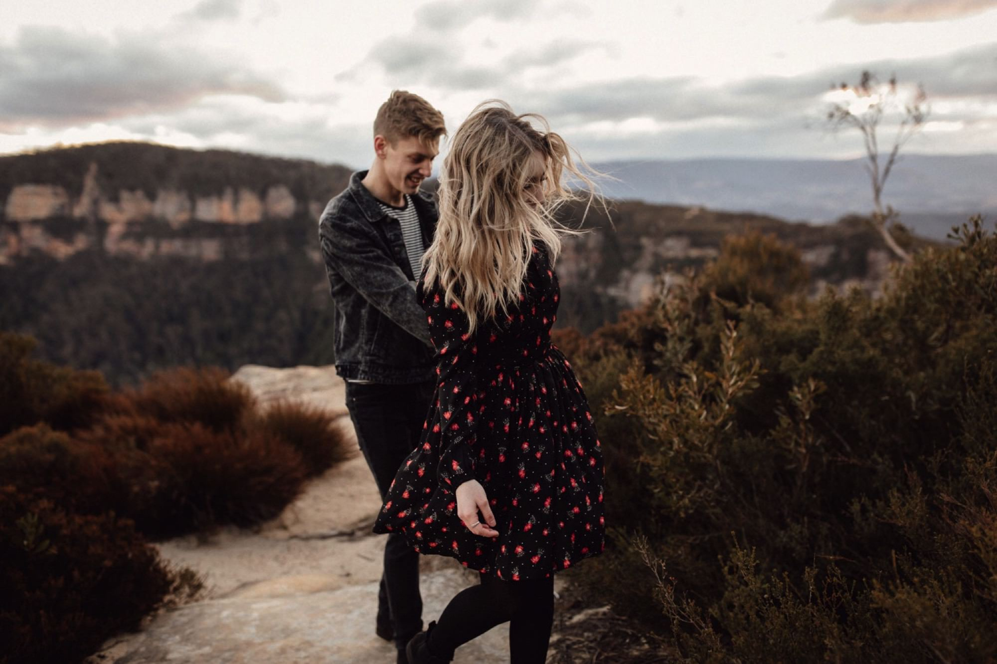 Blue Mountains, Katoomba, Wedding Photographer, Wedding Photography, sunshine coast, brisbane, gold coast, moody, couples, family portrait, winter