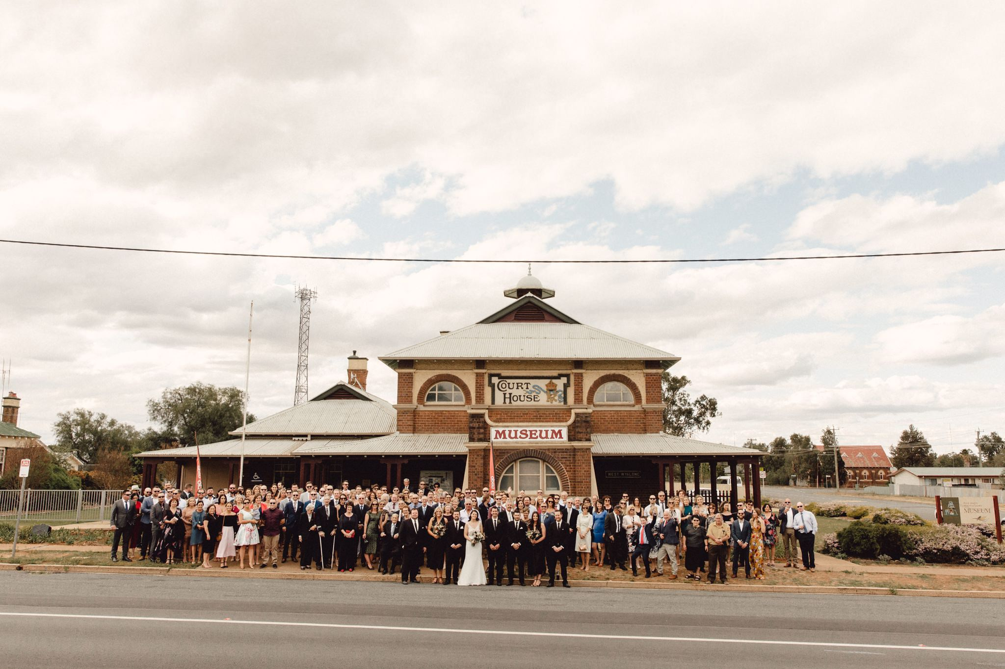 Country Dubbo Wedding photographed by Sunshine Coast Wedding Photographer Shae Estella Photo