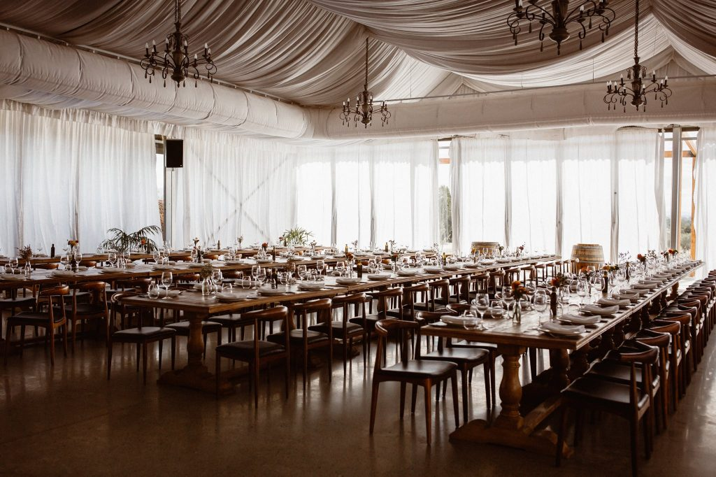 rustic wedding reception decorations