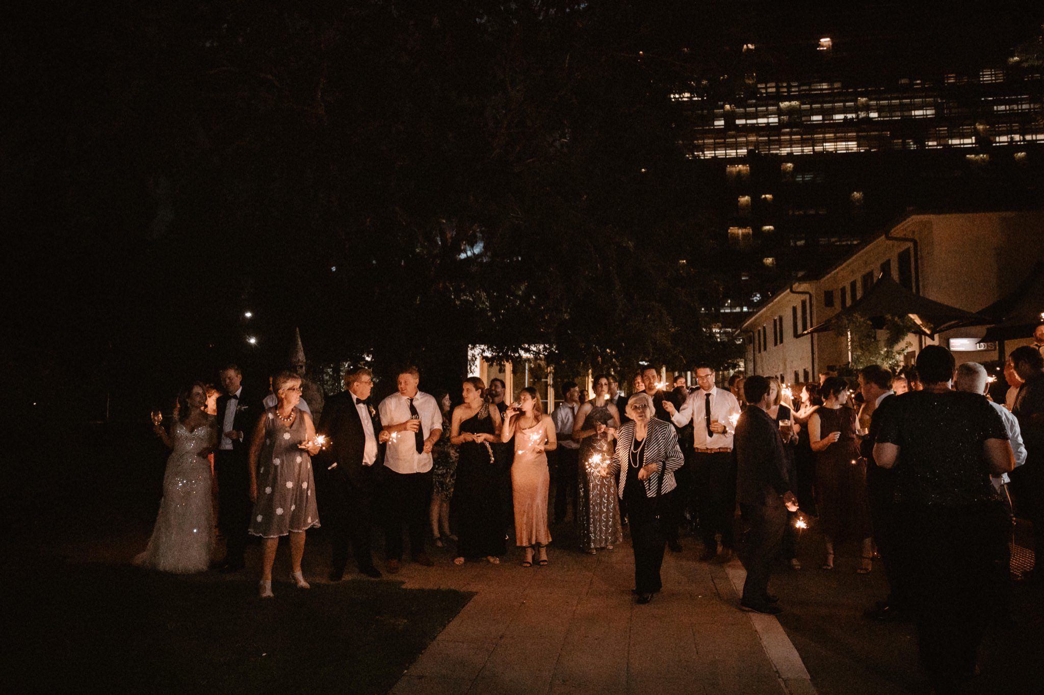 New Years Eve wedding at Parlour Wine Room, New Acton