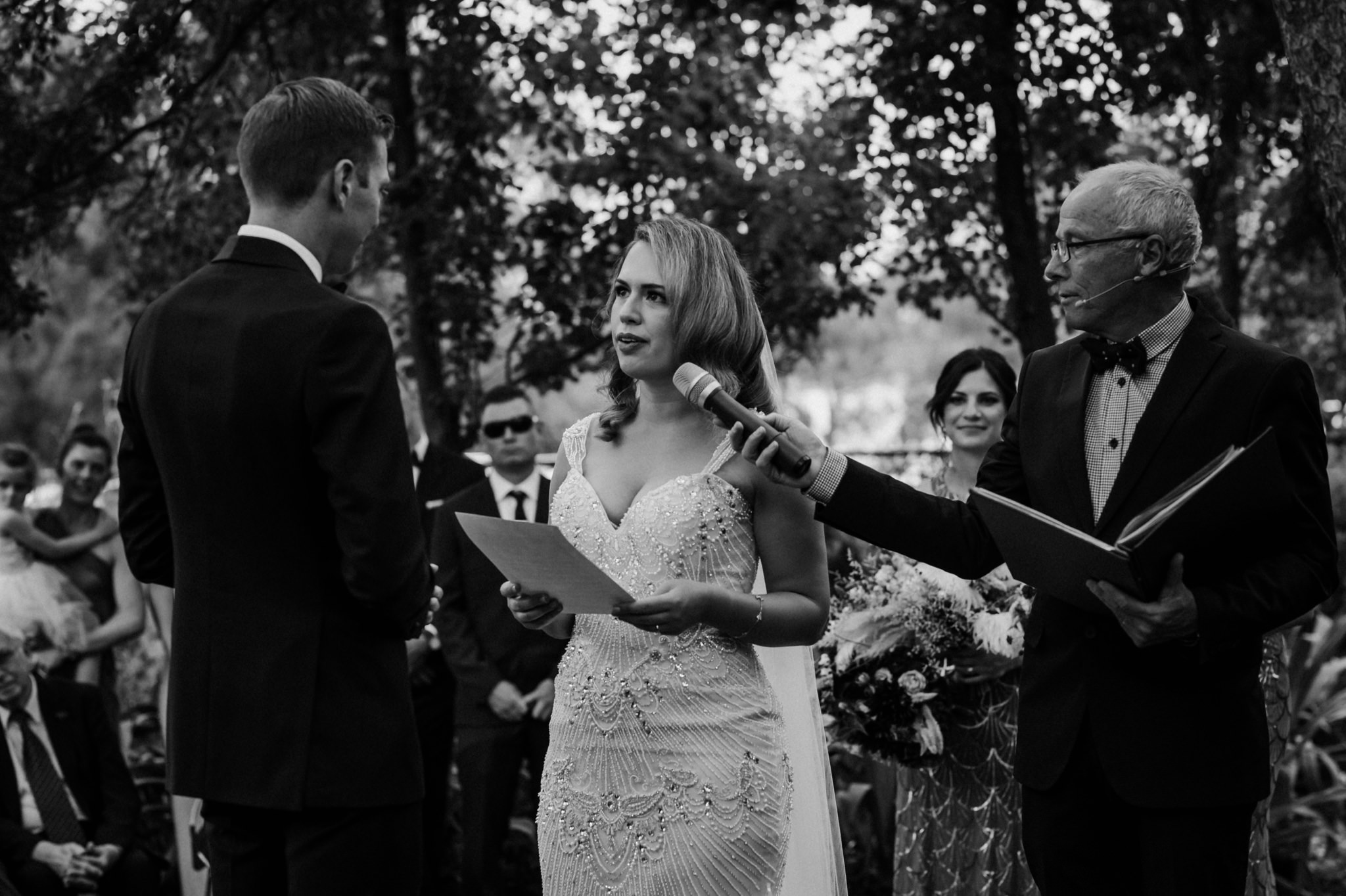 cocktail wedding, maleny wedding photographer, sunshine coast wedding photographer, parlour wine room, peony n pearl, new years eve, glam, outdoor ceremony, montville, flaxton gardens