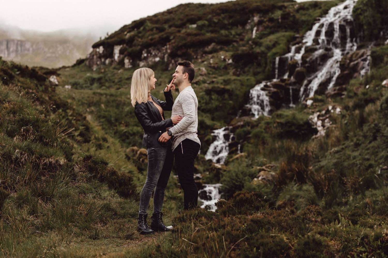 isle of skye, engagement shoot, spring, sunshine coast, maleny, wedding, photographer, photography, elopement, beach, old man storr