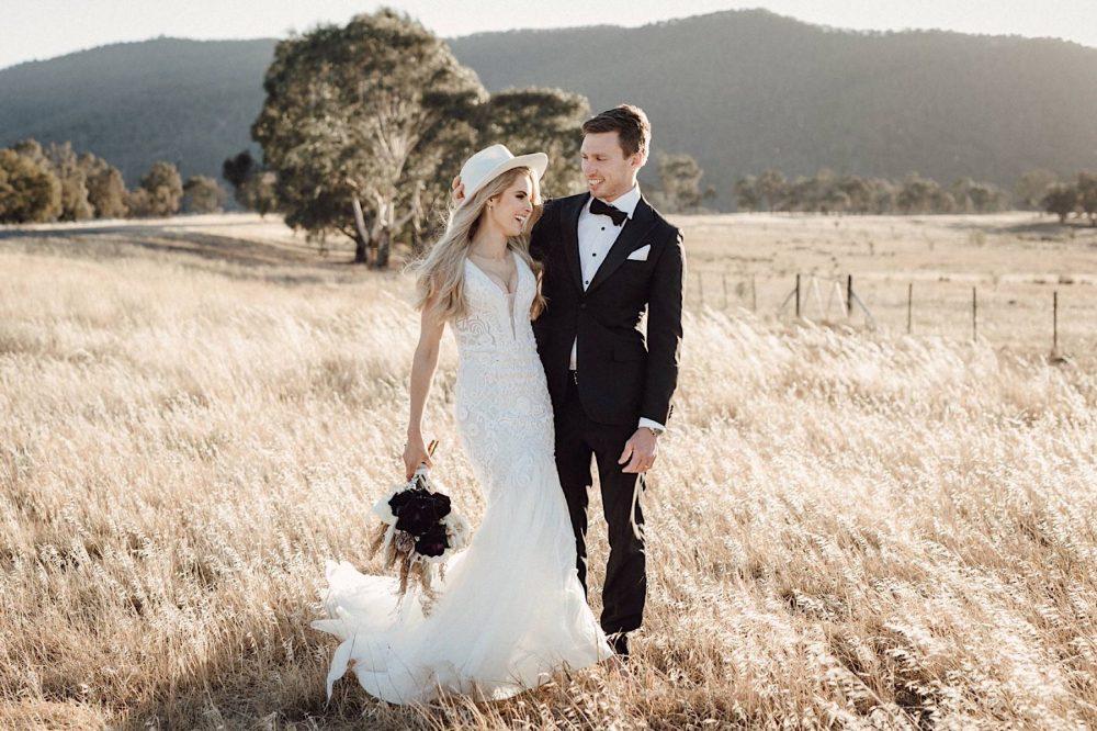Bridget and Mitch's Wedding Portraits