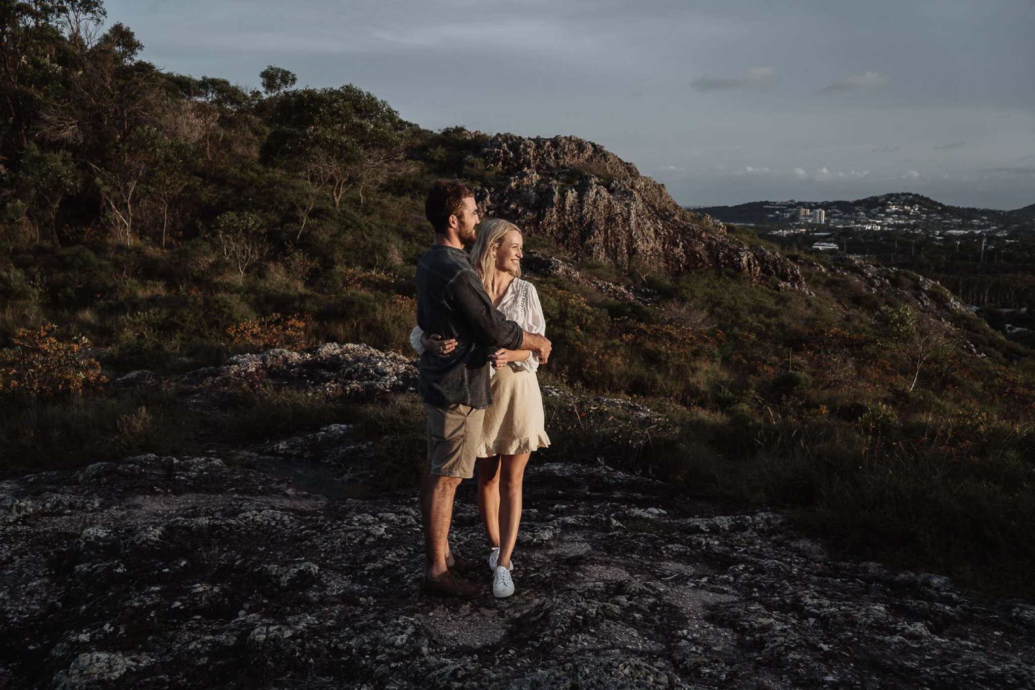 Mount Peregian, Emu Mountain, Sunshine Coast, Engagement Shoot, Location