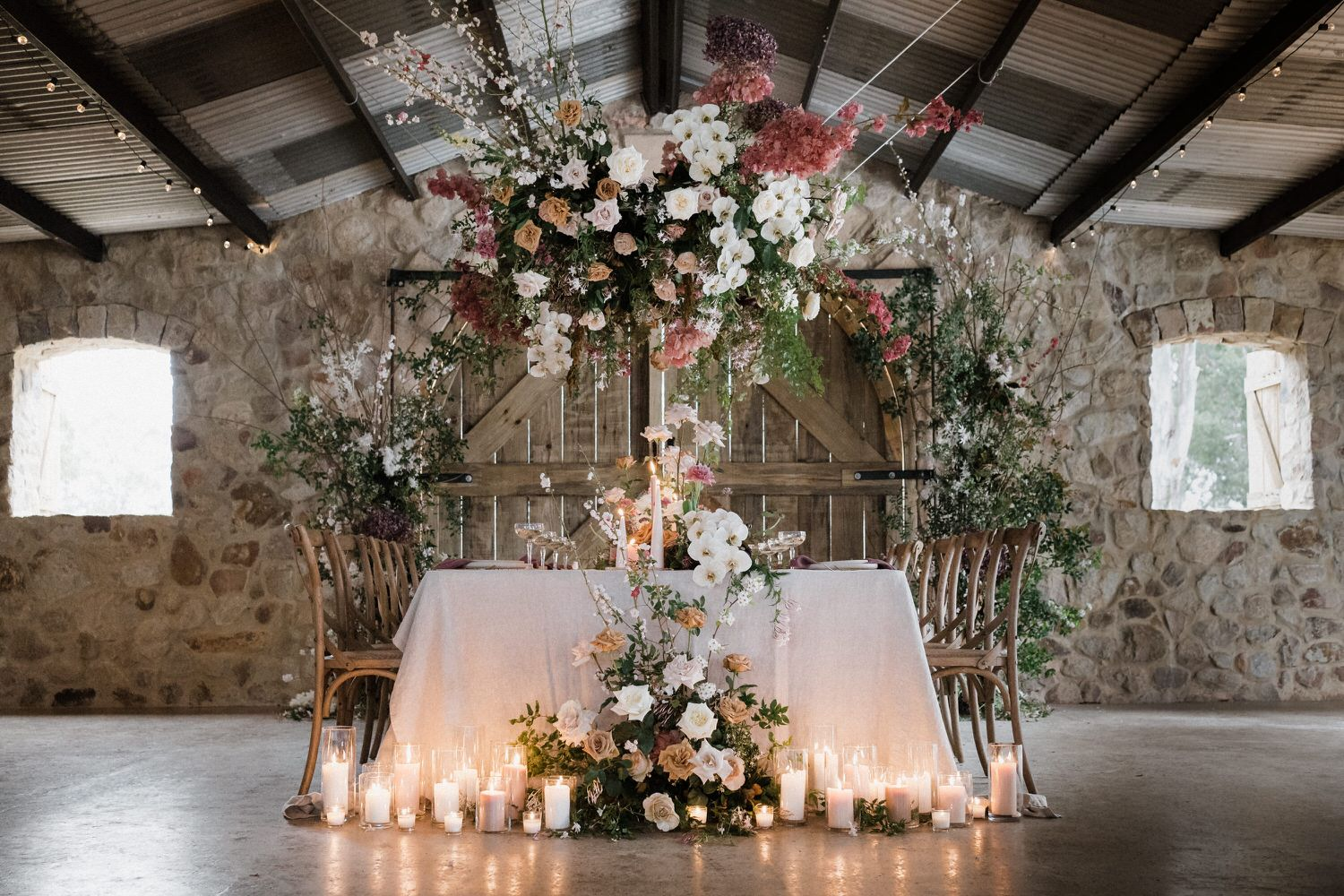 Sunshine Coast Wedding Inspiration featuring Willow Bud Flowers, Karen Willis Holmes at a Noosa private property