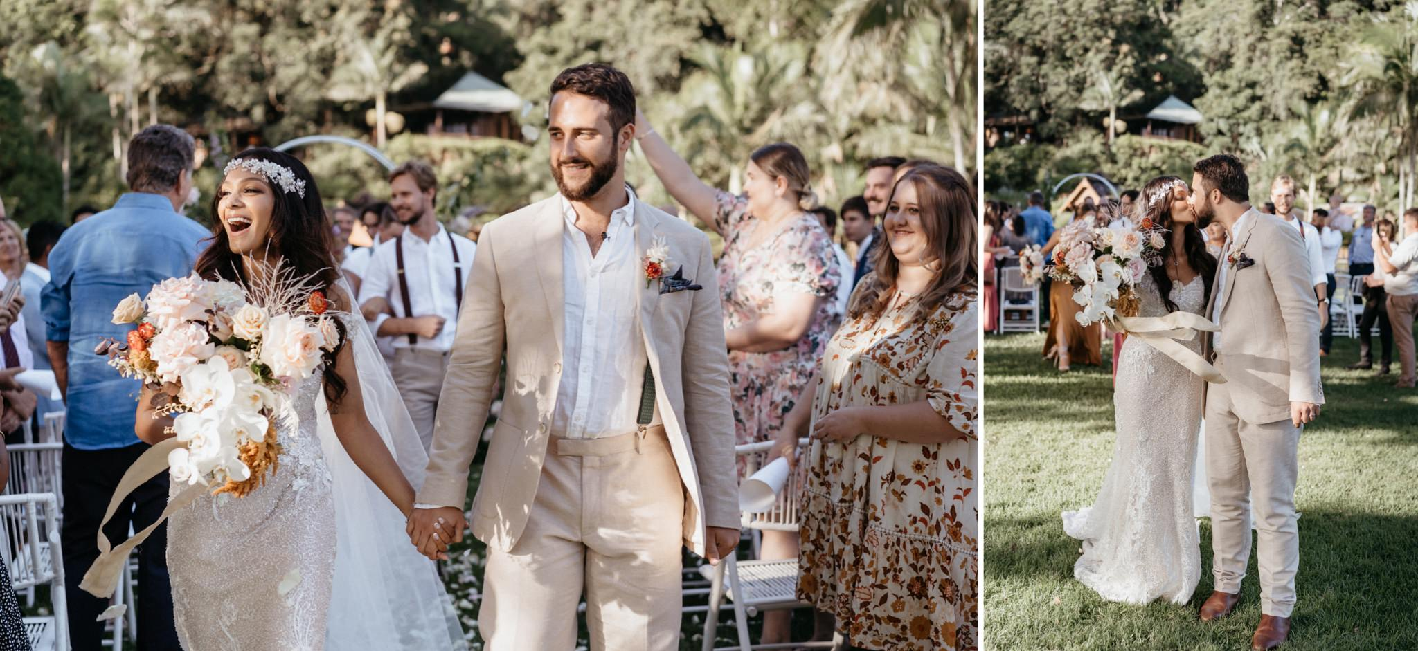 Sunshine Coast Wedding at Secret's on the Lake Montville